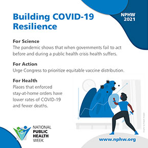 Building COVID-19 Resilience