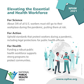Elevating the Essential and Health Workforce